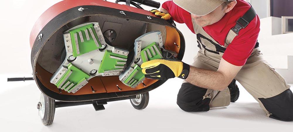 Алмазный инструмент для шлифовки и полировки бетона