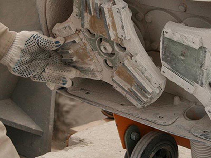 Технология полировки бетонного пола. Тонкое шлифование.