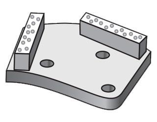 Фрезы для импортных мозаично-шлифовальных машин