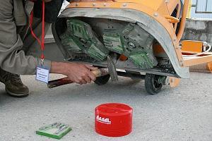 Технология шлифовки и полировки бетона