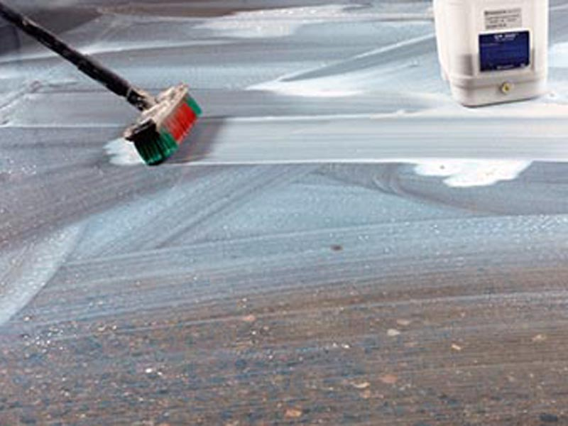 Технология шлифовки и полировки бетонных полов Husqvarna Hiperfloor