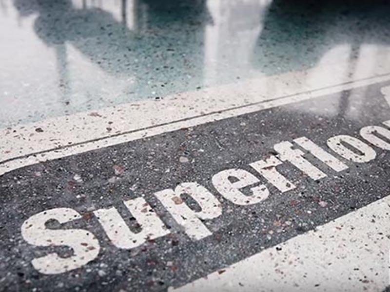 Технология полировки бетонного пола HTC Superfloor