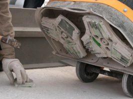 Как снять «молочко» или ослабленные слои бетона