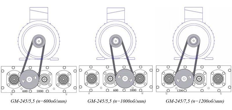 Мозаично-шлифовальная машина Сплитстоун GM-245
