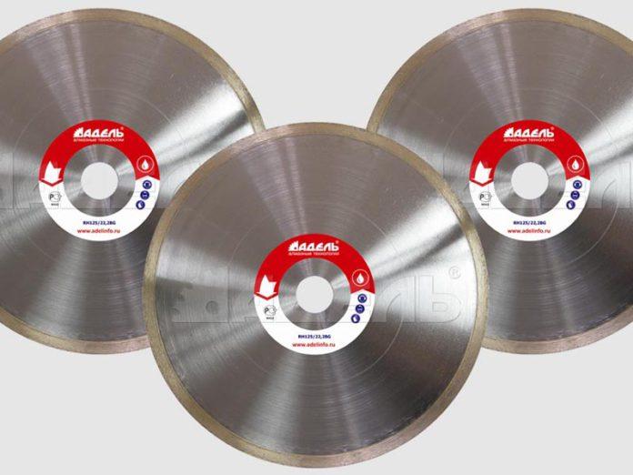 Алмазные диски со сплошным алмазным слоем (тип R)