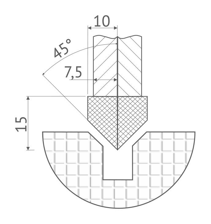 Геометрические параметры алмазного диска