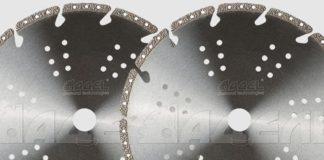 Алмазные диски по металлу (тип V)